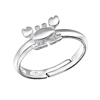 Crab - 925 Sterling Silver Rings - W28090X