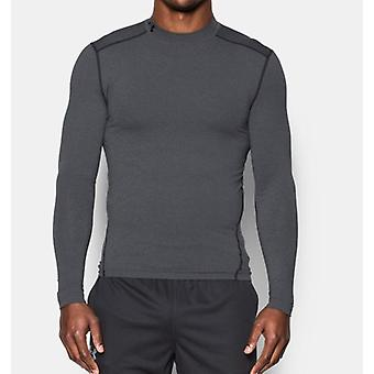 Under Armour Herren compressione-Mock-camicia UA ColdGear® Armour® colore: grigio