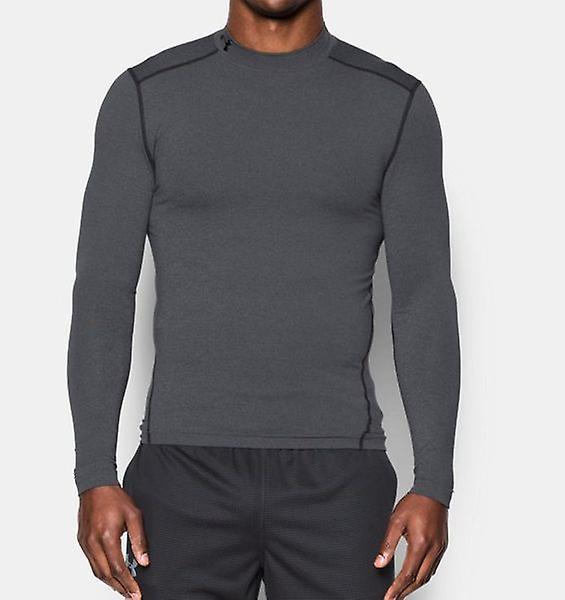 Under Armour Herren Kompressions-Mock-Shirt UA ColdGear® Armour® Farbe: Gray