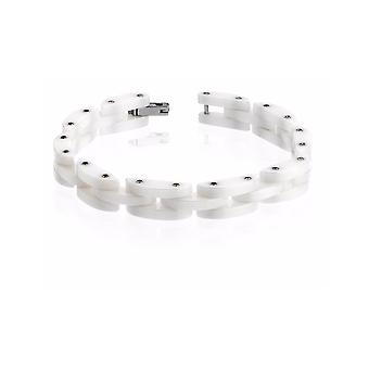 ZOPPINI Stainless Steel Ceramic Bracelet