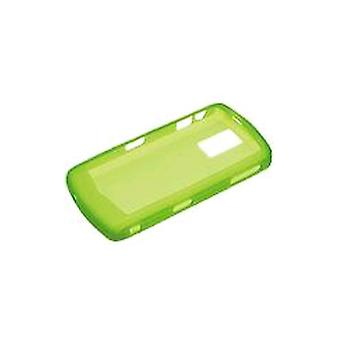 BlackBerry - Silicone Cover Skin for BlackBerry 8100 8100c - Neon Green