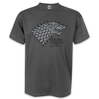 Game of Thrones T-Shirt Winter is Coming  House Stark