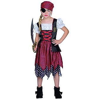 Mary pirata traje vestido da menina crianças Halloween carnaval Seeräuberin