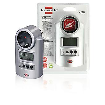 Brennenstuhl BN-PM231 Energie Power Meter met Klok en Meetfuncties