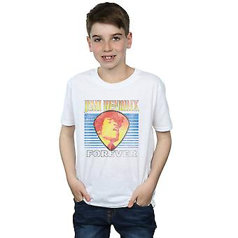 Jimi Hendrix Boys Retro ewig T-Shirt