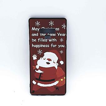 Für Samsung Note 9 Beutel Weihnachten Santa Claus Glück