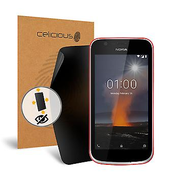 Celicious Privacy oltre 4 vie Anti-Spy Screen Protector Film compatibile con Nokia 1 del filtro