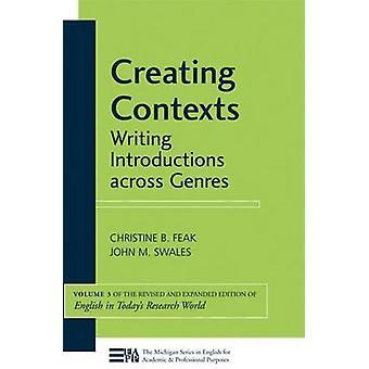 Skapa sammanhang - Writing introduktioner över genrer av Christine B