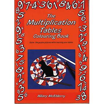 The Multiplication Tables Colouring Book - Solve the Puzzle Pictures W