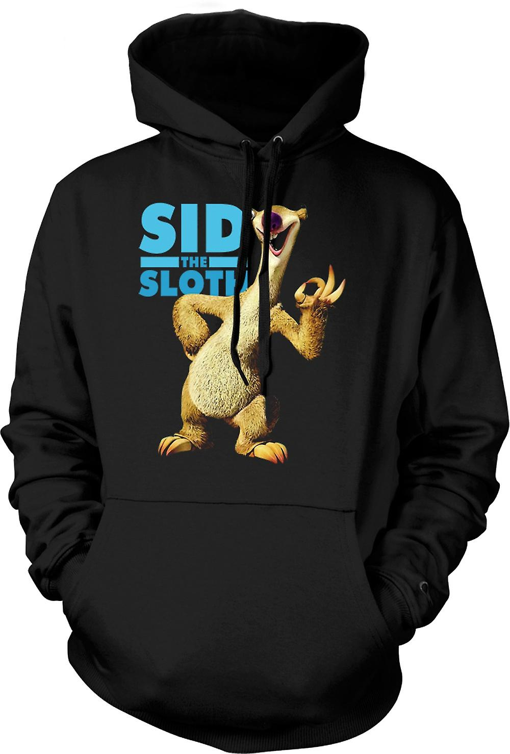 Mens Hoodie - Ice Age - Sid The Sloth
