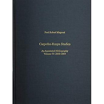 Karpaten-Roetheens Studies: Een geannoteerde Biliography, 2003-2004