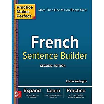 La pratique rend parfait Français phrase Builder, deuxième édition
