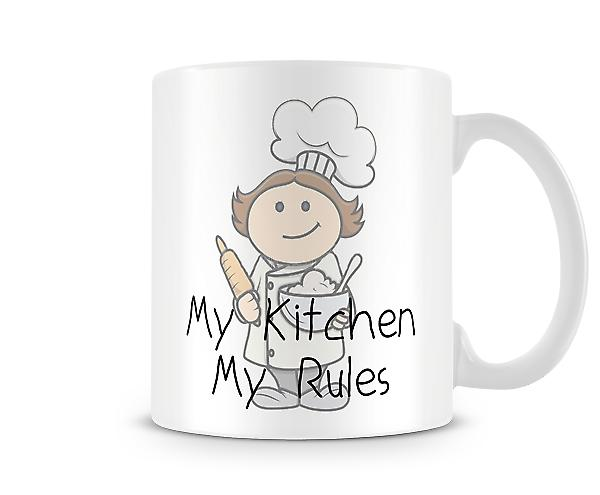 My Kitchen My Rules Mug