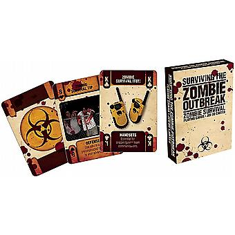 Surviving The Zombie Outbreak Satz der Spielkarten (nm)
