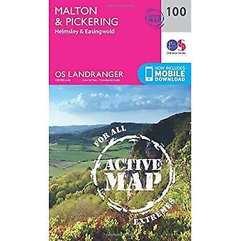 Malton y Pickering, Helmsley & Easingwold (OS Landranger mapa)
