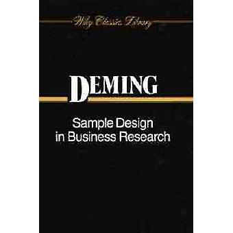 Sample Design in Business Research by Deming & W. Edwards