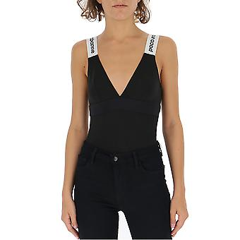 Paco Rabanne Black Cotton Bodysuit