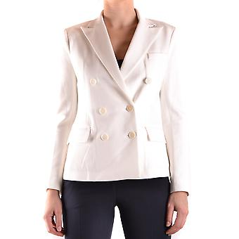 Ralph Lauren White Cotton Blazer