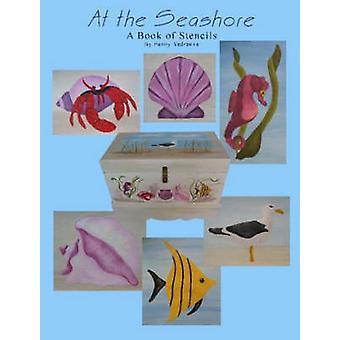 På Seashore A boken av stenciler av Vedrenne & Penny