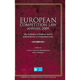 European Competition Law Annual 2009 by Ehlermann & ClausDieter