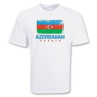 Aserbaidschan-Fußball-T-Shirt