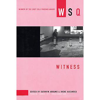 Witness - 2008 - Volume 36 - number 1 & 2 - Spring/Summer by Kathryn Abr