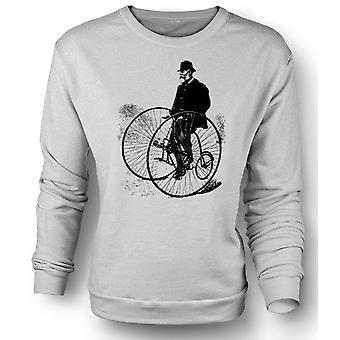 Mens Sweatshirt Vintage Classic Bicycle Tricycle