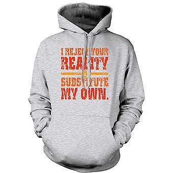 Kids Hoodie - I Reject Your Reality - Mythbusters