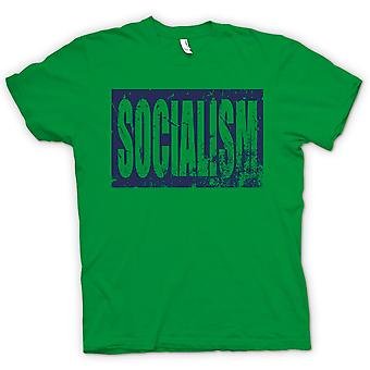 Mens T-shirt - Socialism - Political