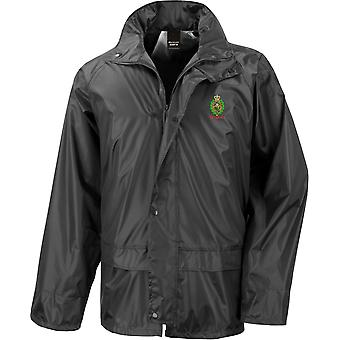Royal Regiment Of Fusiliers Crest Veteran - Licensed British Army Embroidered Waterproof Rain Jacket