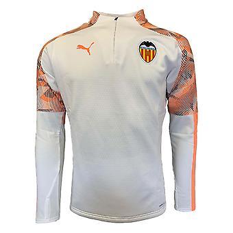 2019-2020 Valence Puma Training Fleece (Blanc)