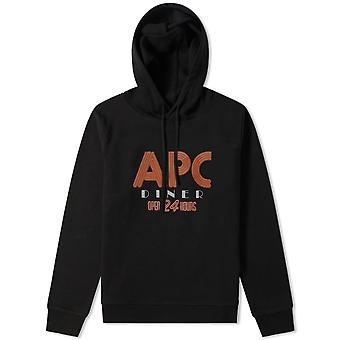 A.p.c A.P.C Diner Graphic Print Hoodie