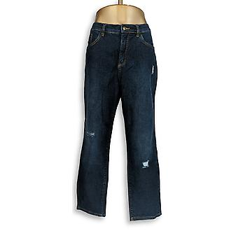 Denim & Co. Women's Jeans Classic Denim Blue A304472