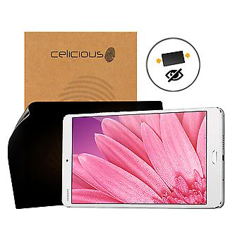 Celicious Privacy 2-Way Anti-Spy Filter Screen Protector Film Compatible with Huawei MediaPad M3 8.4