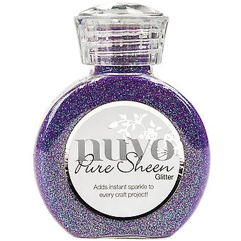 Nuvo Pure Sheen Glitter 3.38oz-Violet Infusion NPSG-723