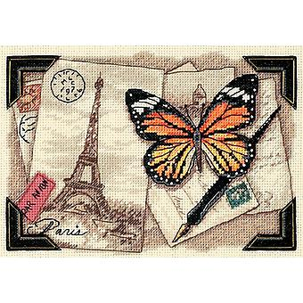 Gold Collection Petite Travel Memories Counted Cross Stitch 7
