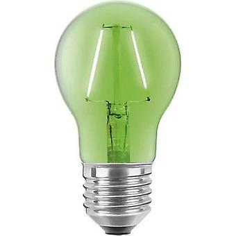 LED (monochrome) Segula 230 V E27 2 W Green EEC: n/a Arbitrary (Ø x L) 60 mm x 105 mm Filament 1 pc(s)