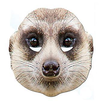Meerkat Animal cartão partido máscara