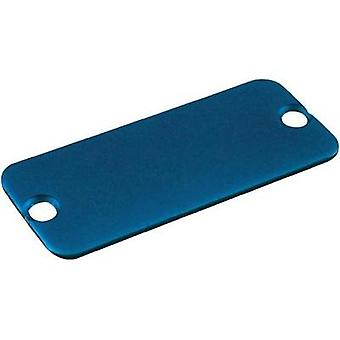End cover Aluminium Blue Hammond Electronics 1455NALBU-10 1 pc(s)
