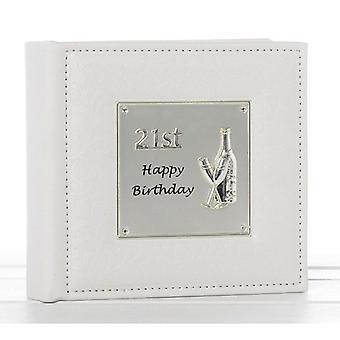 Deluxe Happy 21st Birthday Celebration Photo Album 77983