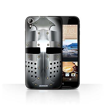 STUFF4 Case/Cover for HTC Desire 830/Bascinet Helmet/Knight Armour