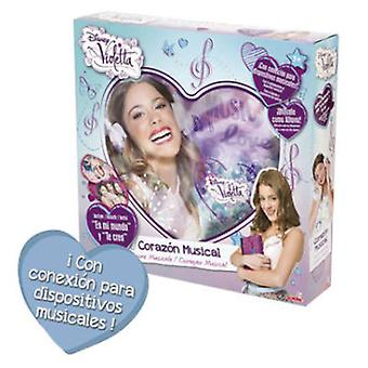 Simba Cojin Musical Violetta (Toys , Educative And Creative , Music , Accessories)