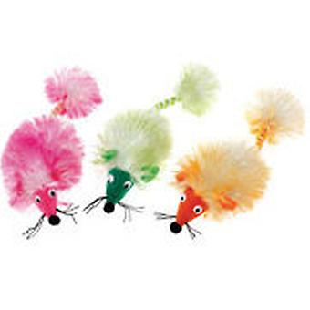 Classic For Pets Glamour Pom Pom Mouse (Cats , Toys , Plush & Feather Toys)
