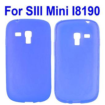 Translucent cover, TPU, to Galaxy S3 mini (blue)
