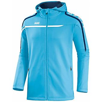 James performance hooded jacket aqua 6897