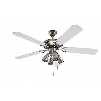 Ceiling Fan Steel Star 132 cm / 52