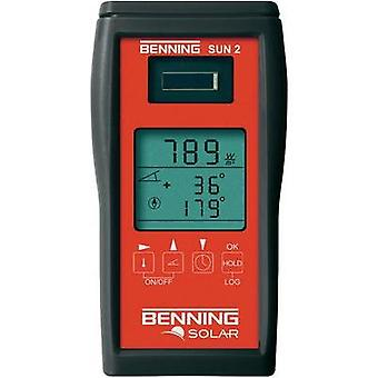 PV multimeter Benning SUN 2 Calibrated to: Manufacturer standards