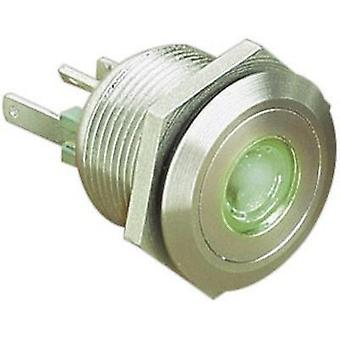 Tamper-proof pushbutton 24 Vdc 0.05 A 1 x Off/(On) ESKA Bulgin MPI001/28/GN IP66 momentary 1 pc(s)