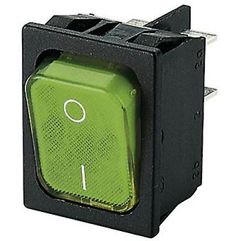 Toggle switch 250 Vac 10 A 2 x Off/On Marquardt 1835.3108 IP40 latch 1 pc(s)