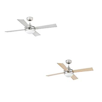 Faro ceiling fan Mini Icaria Nickel matt 107 cm / 42